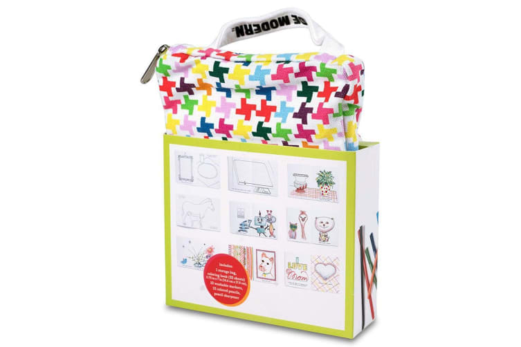 Kid Made Modern On-The-Go Drawing Kit