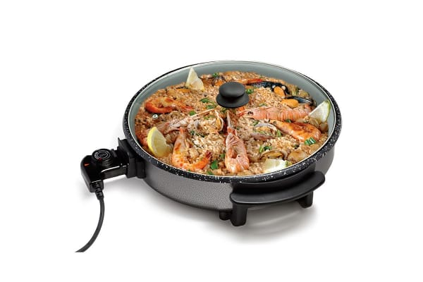 Stone Choice 1500W Stoneware Electric Frying Pan