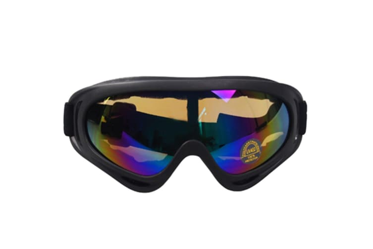 Ski  Snowboard  Skate Glasses, Motorcycle Cycling Goggles with UV 400 Protection, Wind Resistance, Anti-Glare Lenses Y000079