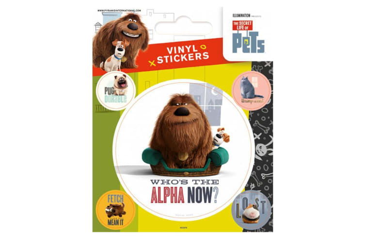 The Secret Life Of Pets Stickers (Multi-colour) (One Size)