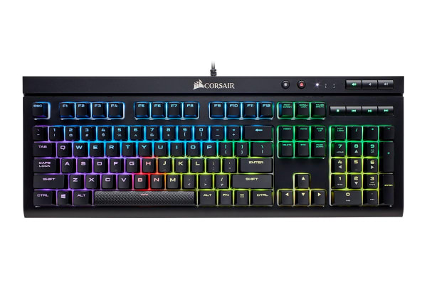 Corsair K68 Mechanical Gaming Keyboard RGB LED Cherry MX Red