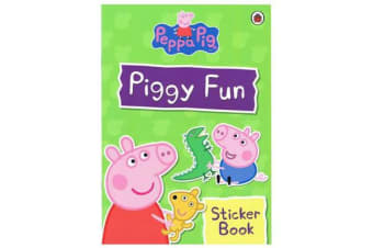 Piggy Fun Sticker Book