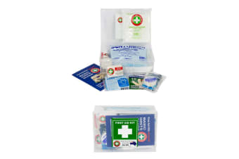 20pc Safety Emergency First Aid Kit Medical Injury Treatment Home/Car/Office