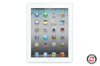 Apple iPad 2 Refurbished (16GB, Wi-Fi, White) - AB Grade
