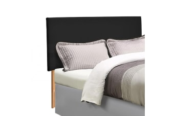 Levede Single Queen King Double Size Bed Frame Headboard PU Leather Wooden Slats
