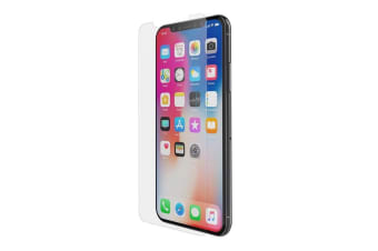 Belkin 9H Force Tempered Glass Tough Screen Protector/Guard for Apple iPhone X