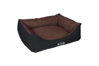 Scruffs Expedition Box Dog Bed (Chocolate)
