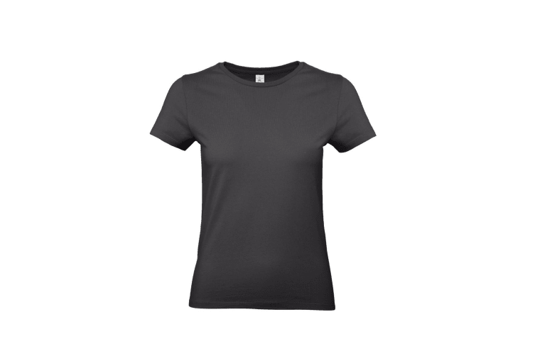 B&C Womens/Ladies #E190 Tee (Used Black) (S)