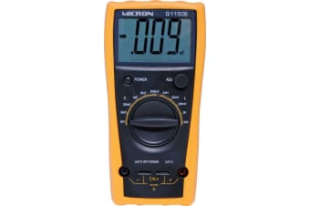 Digital LC meter supplied with silicon rubber test leads rubber holster