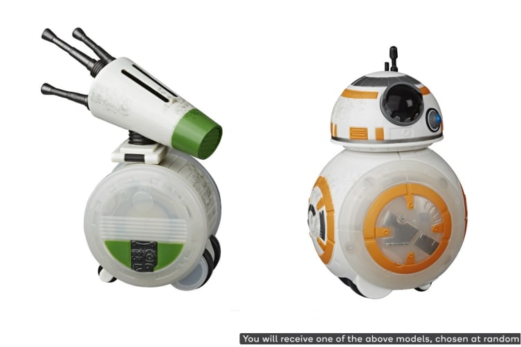Star Wars: The rise of Skywalker Rev And Go Droid (Assorted)