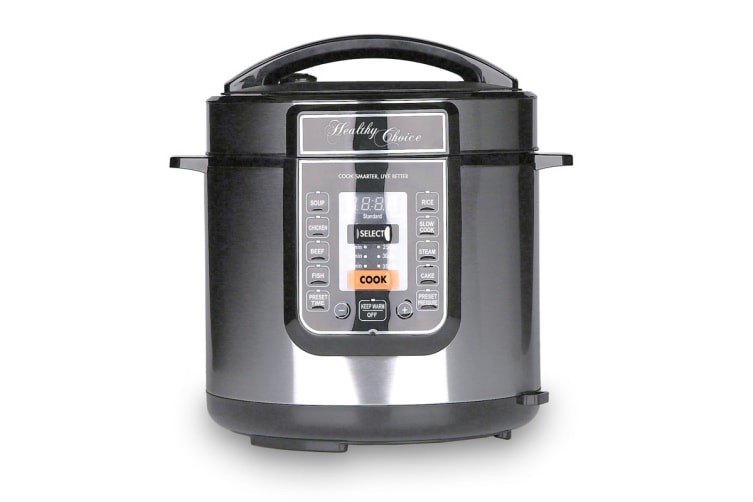Healthy Choice 8-in-1 Pressure and Slow Cooker