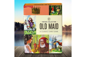 Ladybird Books Old Maid Card Game | playing cards vintage