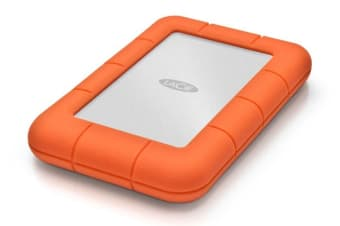 LaCie 2TB Rugged Mini Mobile USB 3.0 Portable Drive (9000298)