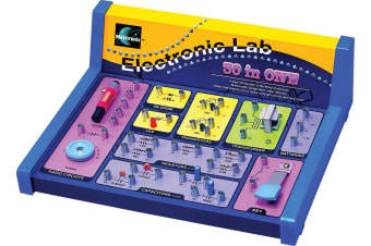 30 In 1 Electronics Lab Kit for children aged 8 and over