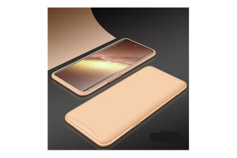 Frosted Shield Matte Plastic Ultra Thin Shockproof Case For Oppo Gold F3Plus