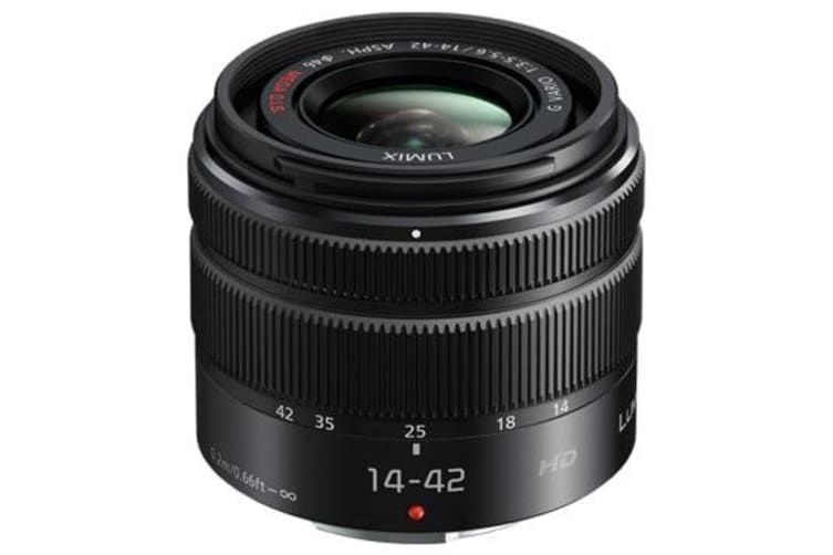New Panasonic Lumix G Vario 14-42mm F3.5-5.6 II ASPH MEGA O.I.S Lens (FREE DELIVERY + 1 YEAR AU WARRANTY)