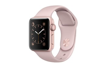 Apple Watch Series 3 (Gold, 42mm, Pink Sand Sport Band, GPS Only)