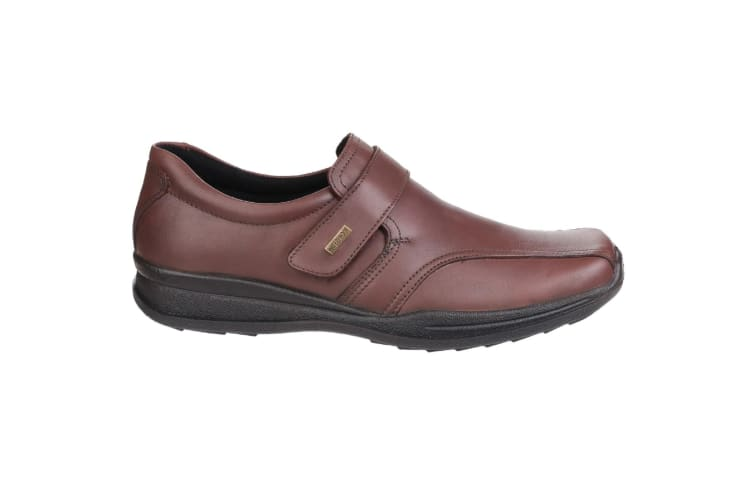 Cotswold Mens Birdlip Waterproof Touch Fasten Shoes (Brown) (8 UK)