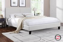 Ovela PVC Leather Bed Frame