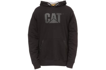 Caterpillar C1910812 Tech Hooded Sweatshirt / Hoodie (Black) (3XLarge)