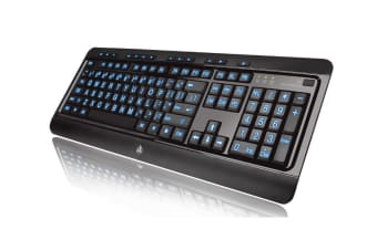 Azio KB505U keyboard USB English Black