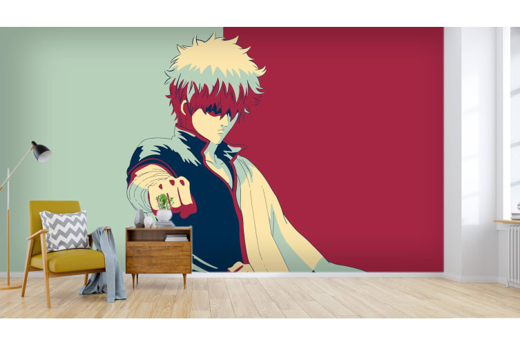 3D Gintama 019 Anime Wall Murals Woven paper (need glue), XXL 312cm x 219cm (WxH)(123''x87'')