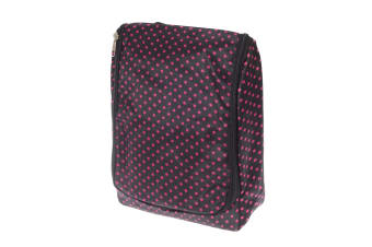 Womens/Ladies Patterned Travel Toiletries Bag (Dots) (One Size)