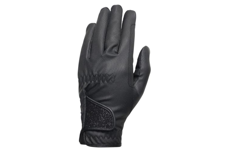 Hy5 Unisex Roka Advanced Riding Gloves (Black/Black) (XS)