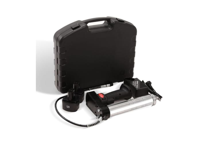 Grease Gun Cordless Battery 12v Electric Rechargeable Industrial 400g