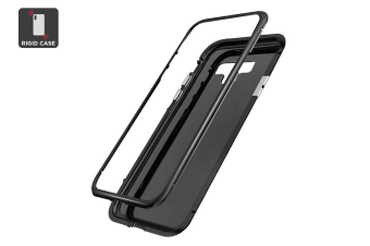 Samsung Note 9 Aluminum Magnetic Phone Case-Black
