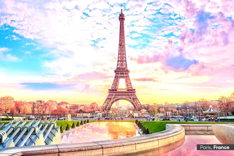 EUROPE: 16 Day Highlights of Europe Tour Including Flights for Two
