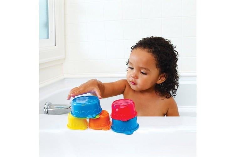 Munchkin Inflatable baby Bath Tub & Toy Caterpillar Spillers