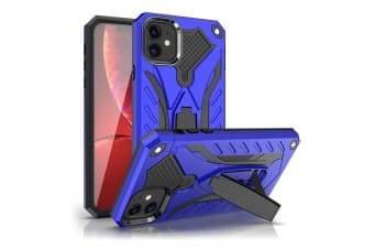 For iPhone 11 Case  Armour Strong Shockproof Cover Kickstand  Blue