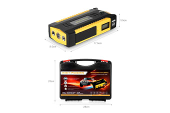 Emergency Charger Battery Jump Starter for Car - 600A 26800mAh