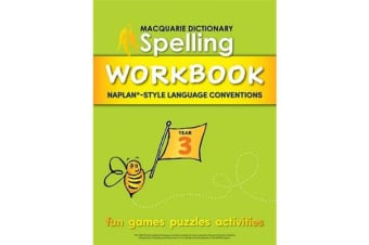 Macquarie Dictionary Spelling Workbook - Year 3
