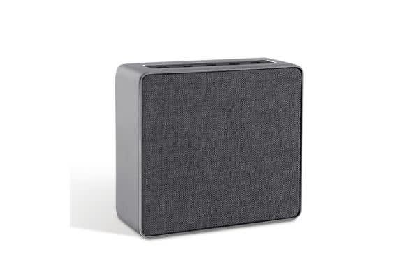 Mini Desktop Wireless Bluetooth Speaker (Grey)